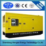 熱い販売のための15kVAリカルドの無声ディーゼル発電機