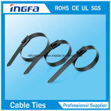 Bille d'acier inoxydable verrouillant des serres-câble