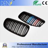 pour le gril de véhicule de gril de véhicule d'avant de fibre de carbone de couleurs de BMW E90 E91 3 emballant des grils
