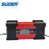 Cargador de batería recargable de Suoer 12V 10A (DC-W1210A)