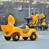 2017 máquinas escavadoras diminutas elétricas internas & ao ar livre a pilhas do brinquedo