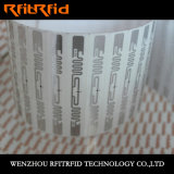 étiquette sèche d'IDENTIFICATION RF ultra-mince de 0.05mm
