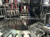 macchina di riempimento 200ml e di coperchiamento rotativa per la bevanda del latte di soia