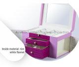 Boîte à emmagasiner Bijoux en marbre MDF à la main moderne et élégante
