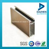 Profil en aluminium d'extrusion pour la porte de guichet avec la taille personnalisée