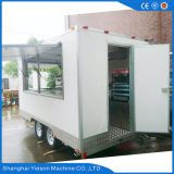 Omnibus eléctrico del alimento de la estación del diseñador del carro del calientaplatos del balanceo nuevo