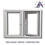 Het Verglaasde Openslaand raam van het aluminium Dubbel/het Openslaand raam van het Aluminium