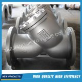 ANSI Wcb / Acier inoxydable Flanged Y Strainer