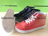 La PU de la inyección de los zapatos ocasionales de las mujeres se divierte los zapatos (FFYJ1224-01)