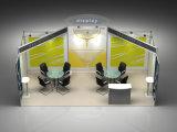 visualización de aluminio de la exposición de la cabina reciclable de la feria profesional 3X6