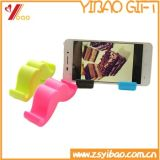 Universal Silicone Funny Smart Phone Sticker Card Holder para Desk, Lazy Mobile Phone Holder