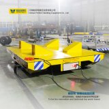 16t Loads Rail Motorized Handling Vehicle Industrial Trailer