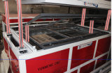 Vakuum, das Maschine für die Plastikzeichen-Herstellung bildet