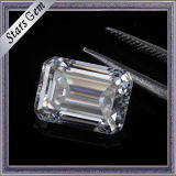 Diamante bianco libero di Moissanite del taglio dello smeraldo di prezzi 10*14mm di inchiesta