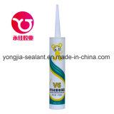 Adhesivo de vidrio de Acetoxy / adhesivo de sellador de silicona (YH-V8)