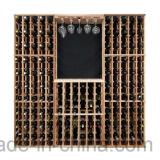 型126のびんの木製のワインの棚付けラックはワイン貯蔵室をアセンブルする
