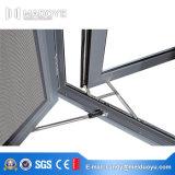 Qualitäts-doppeltes GlasNon-Thermally gebrochenes Aluminiumfenster mit Verschluss