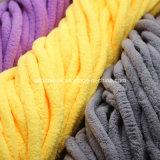 Одеяла шарфа вязания крючком Knit руки громоздкая пряжа акрилового причудливый