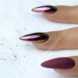 Herrlicher Chamäleon-Pigment-Farben-Verschiebung-Puder-Nagellack
