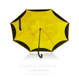 Guarda-chuva reverso do carro