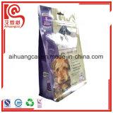 Sacchetto a chiusura lampo di plastica dell'alimento del di alluminio per gli animali domestici