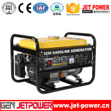 1500W aan de Elektrische Generator van de Macht van de Benzine van het Begin 2800W Draagbare