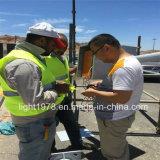 lámpara de calle solar de los 8m poste 60W LED en Jordania
