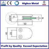 Collier en verre pour main courante en acier inoxydable et balustrade