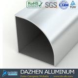 Perfil de aluminio de la puerta de la ventana de aluminio del certificado de la ISO en África Ghana