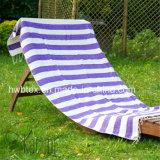 De Handdoek van het klassieke Strand Geweven Pareo/Fouta van de Streep Katoen (FT05)