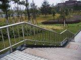ステンレス鋼階段手すりの手すりを柵で囲む鋼材棒