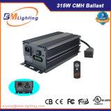 o reator vertical de 315W CMH Digitas cresce completamente o dispositivo elétrico de iluminação para hidropónico interno