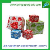 カスタムリボンカラー結婚祝いの荷箱の空想のお菓子屋の包装の投票箱