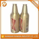 Frasco de cerveja de alumínio vazio preto 330ml 500ml com projeto atrativo
