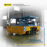 Carrello di trasferimento automatizzato materiale della piattaforma di lavoro aereo delle forbici della batteria
