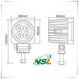 La lámpara LED resistente al agua de conducción de luz de lámpara LED de 12W LED del punto de luz / luz de inundación de la viruta Epsitar de trabajo del LED de luz LED Light Bar - NSL-1204A-12W