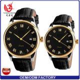 Yxl-276 de hete Verkopende Horloges van Wirst van de Fabriek van Wathes van de Manier van het Roestvrij staal van het Horloge van het Kwarts Unisex- In het groot