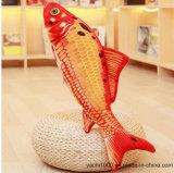 Pescados hechos a mano de encargo del juguete de la felpa para la almohadilla