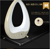 Altoparlante senza fili di Bluetooth dell'acqua di figura portatile di goccia con l'indicatore luminoso del LED