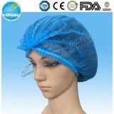 保証された最も低く使い捨て可能な外科Nonwoven Bouffant帽子