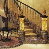 屋内ホテルの手すりを設計するステンレス製のアクリルの鋳造