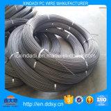 alambre de acero de la PC espiral de las costillas de 9.0m m para el cemento postes