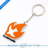 Kundenspezifische Belüftung-Schlüsselkette/Ring für Förderung-Geschenk