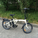 16inch 250W 36vfolding Bicicleta elétrica com Zoom suspenion
