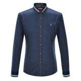 L'usine a personnalisé les chemises d'hommes estampées par coton de mode de chemises de la Californie
