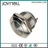 Elektrischer hoher runder IP67 Drucktastenschalter 12mm~25mm