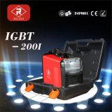 Saldatrice di MMA IGBT con la custodia in plastica (IGBT-160I/200I)