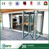 새로운 디자인 알루미늄 태풍 충격 비스무트 겹 미닫이 문 가격
