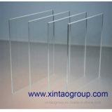 La fábrica 4m m de Xintao sacó placa de acrílico de la hoja para mostrar el soporte