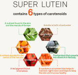 식품 첨가제와 착색제 양분을%s 자연적인 루테인
